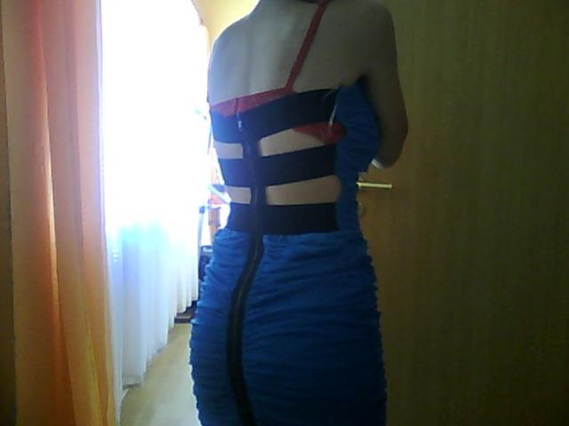 Sexy haljina otvorenih leđa
