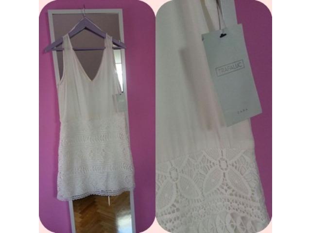 Nova Zara cipkana haljina