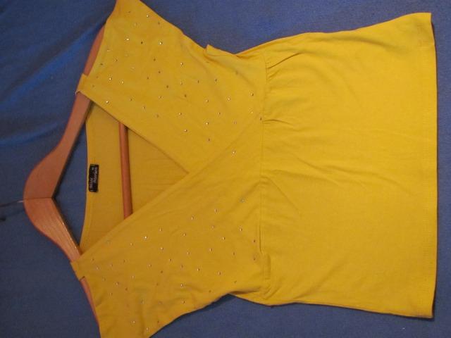 Žuta leptirasta majčica s cirkonima