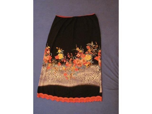 Vintage cvjetna suknja