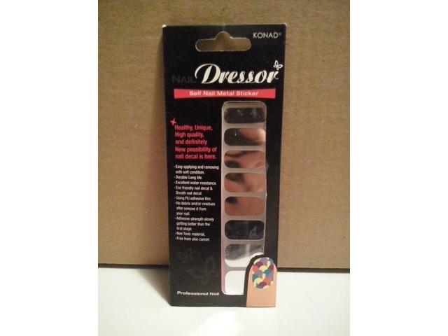 Konad Nail Dressor naljepnice za nokte - Silver
