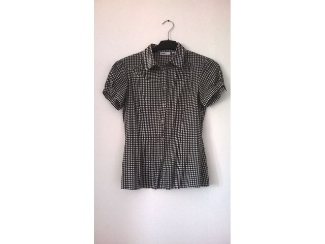 Karirana košulja kratkih rukava, 38
