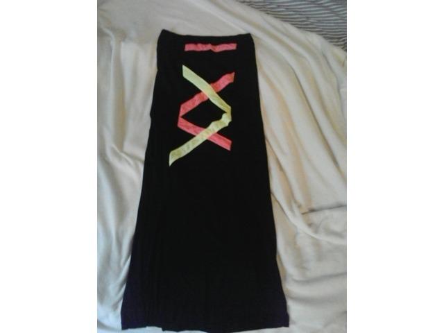 crna maxi suknja S/M