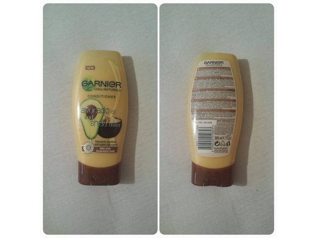 GARNIER Ultra Naturals CONDITIONER, Avocado Oil and Shea Butter, 200ml