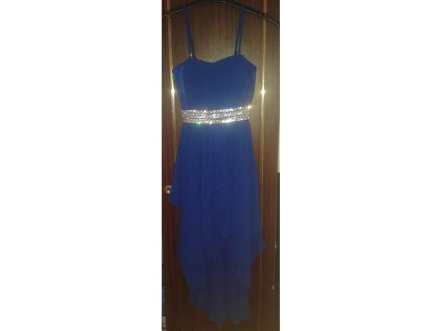Kraljevsko plava haljina Giovanni