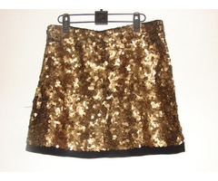 Sequin  mini suknja br 38