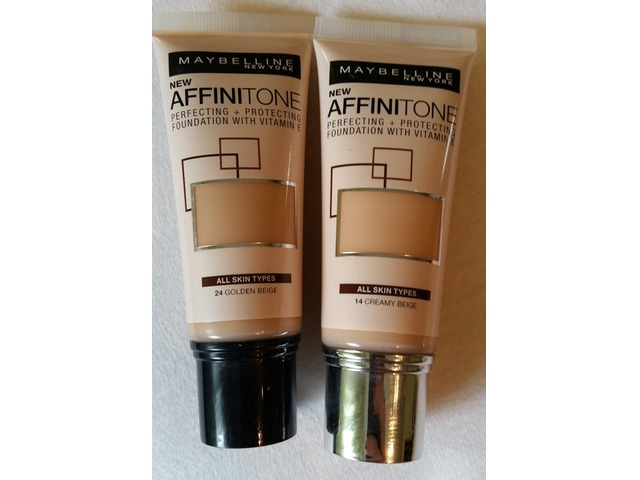 Maybelline affinitone puder