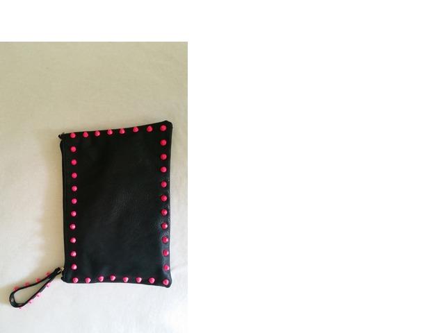 Crno roza torbica