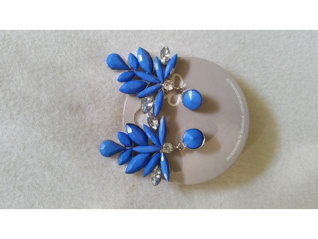 Plave naušnice