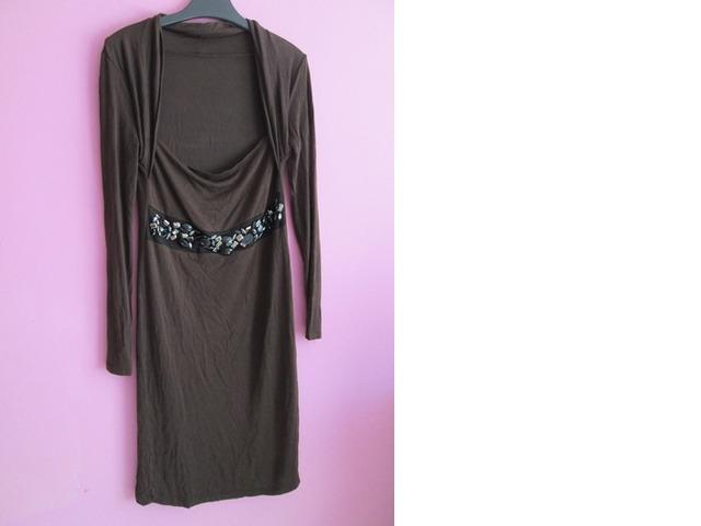 Smeđa haljina