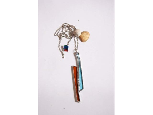 Unikatna, ručno izrađena ogrlica u Tifanny tehnici