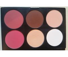 bh cosmetics contour&blush paleta