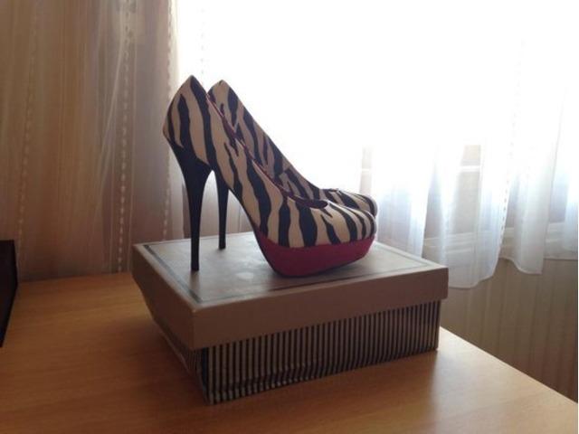 Cipele zebra uzorka