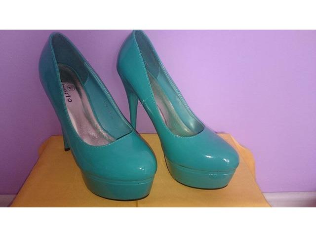 Cipele na petu, zelene, br.38
