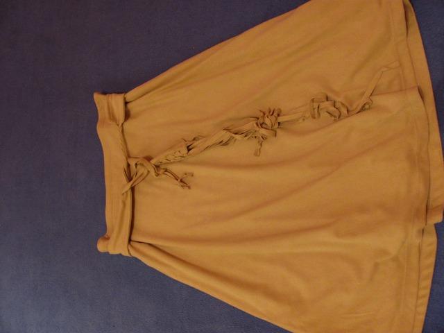 Vintage krem suknja