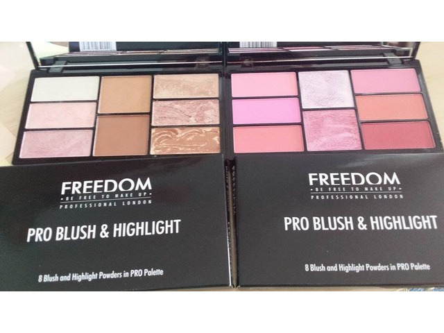 Freedom makeup lot bronzera i blusheva