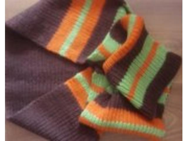 Pleteni šal od vune