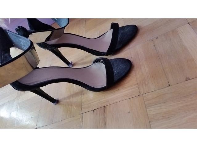 Zara sandale a petom