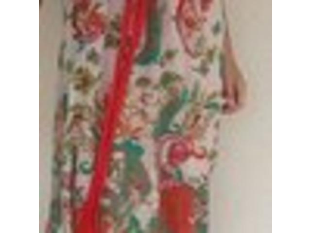 Mango šarena duga haljina