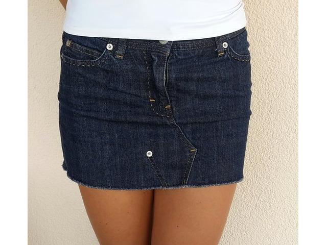Sisley jeans suknja (40)