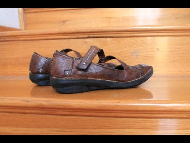 Smeđe kožne cipele, broj 38