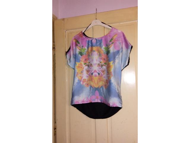 cvjetna majica tunika univerzalna veličina