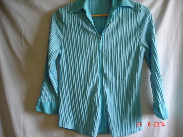 Nova Plava košulja dugih rukava
