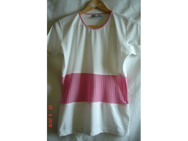 Nova Bijelo-roza majica