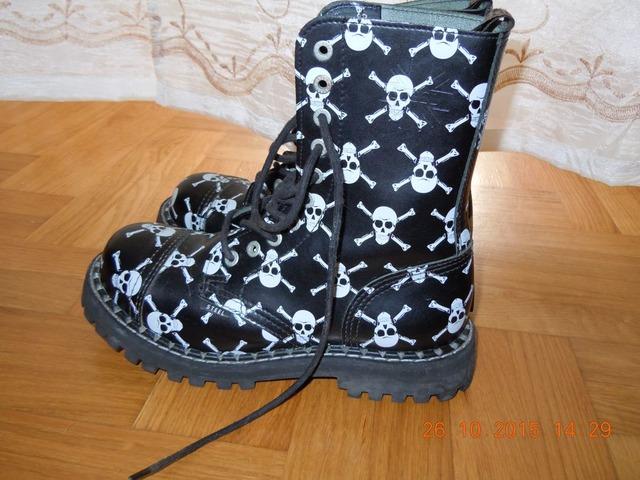 Steel Boots 10 rupica