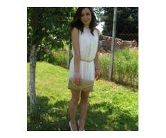 Svecana bijela haljina