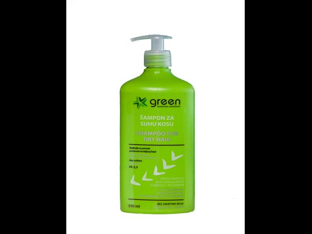 šampon za suhu kosu