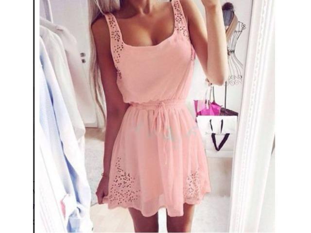 Nova nježno roza haljina vel. 38