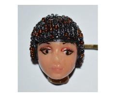 Unikat - Samira - kopča za kosu od fimo mase