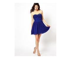 Little Mistress plava haljina, vel 40
