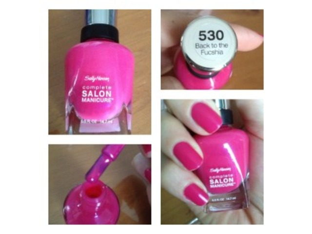 Sally Hansen lak za nokte-530 Back to the Fucshia