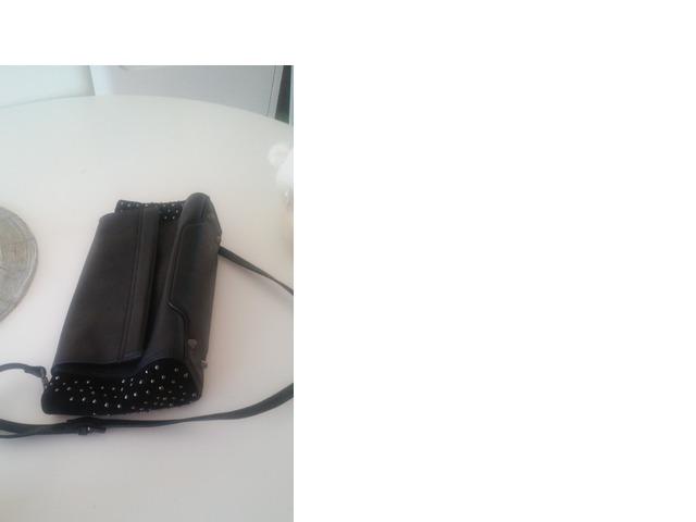 Rock glam crna zenska torbica iz ZARE