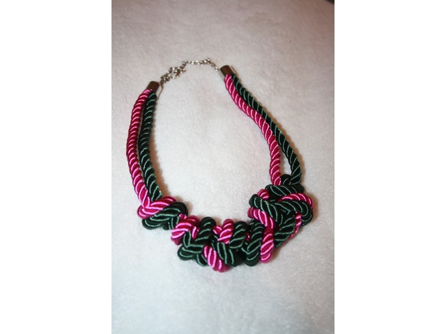 ReadyForSpring Sillk Necklace!