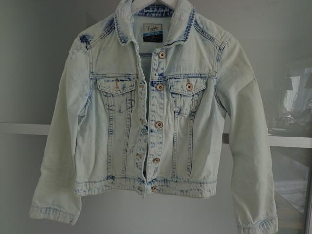 Zara L jeans jakna