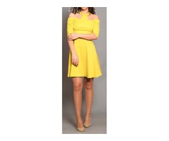 Nova žuta haljina trend proljeće 2016