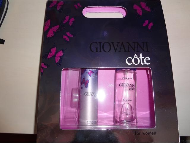 Novi poklon set: parfem + dezodorans :)