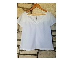 NOVA Pimkie bijela bluzica