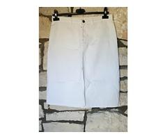 NOVA Zara bijela traper suknja