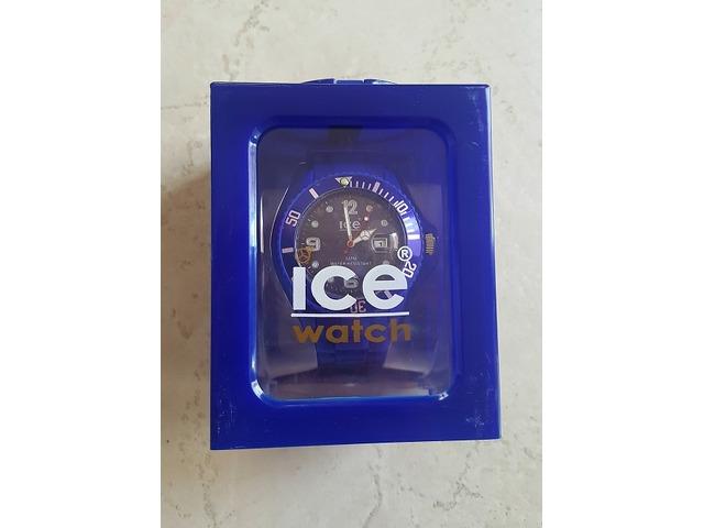 NOVI Ice plavi gumeni sat