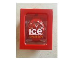 NOVI Ice crveni sat