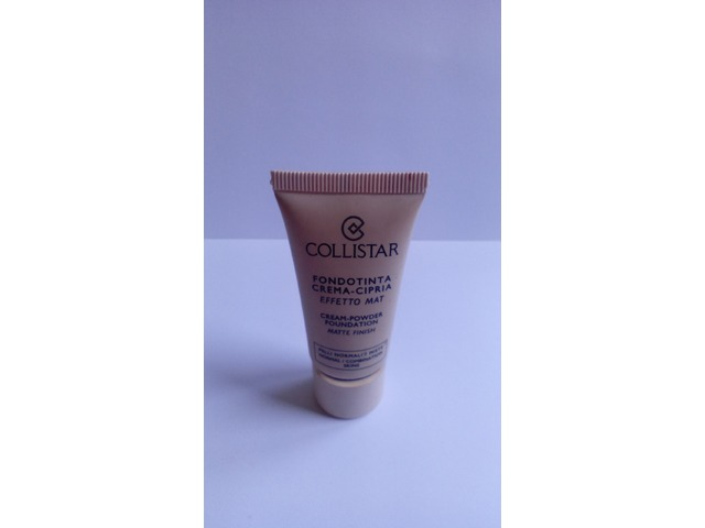 Collistar cream- powder foundation