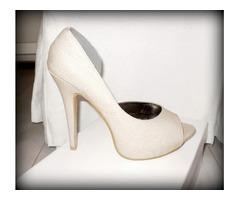 AKCIJA 150 KN !!!Atraktivne bež cipele s platformom
