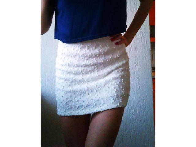 nova bijela suknja