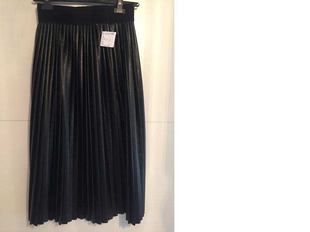 NOVA Plisirana suknja od umjetne kože