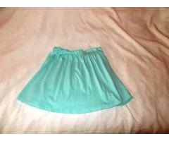 Mint zelena suknja