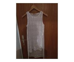 Bershka prozirna haljina za plažu